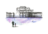 Pier of Lost Souls - Hand Finished Signed Print