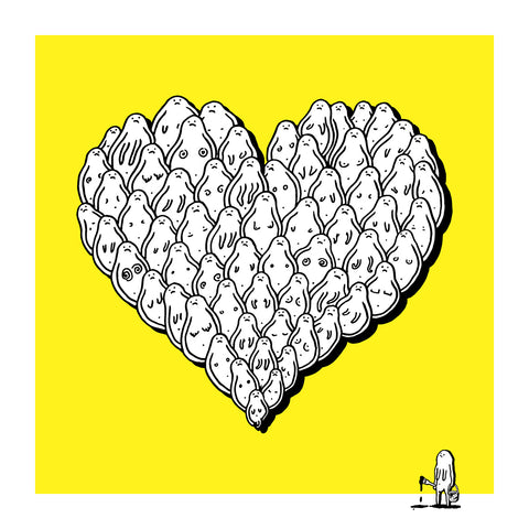 Heart of Champs - Signed Screen Print