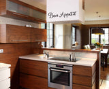 Bon Appetit Kitchen or Dining Room Vinyl Wall Decal