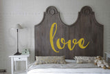 Love Vinyl Wall Decal