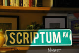 Custom Reflective Street Sign