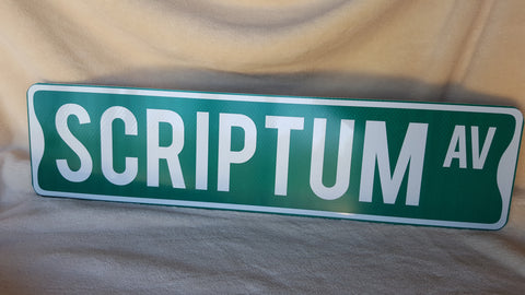 Add-on for Custom Reflective Street Sign - Additional Side and/or Colors