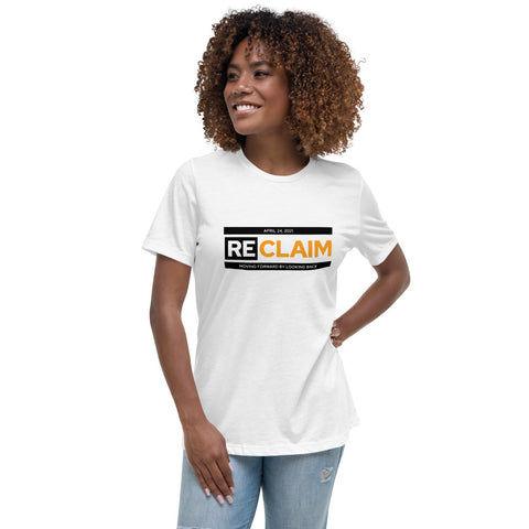 2021 ReClaim Conference T-Shirt - Relaxed Women's Cut