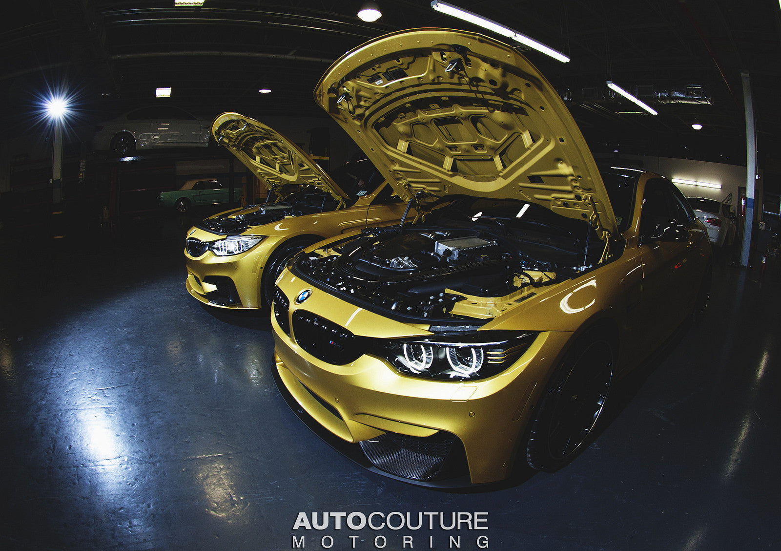 BMW 4-Series / F8x M3 & M4 BLK-OUT LED Headlights