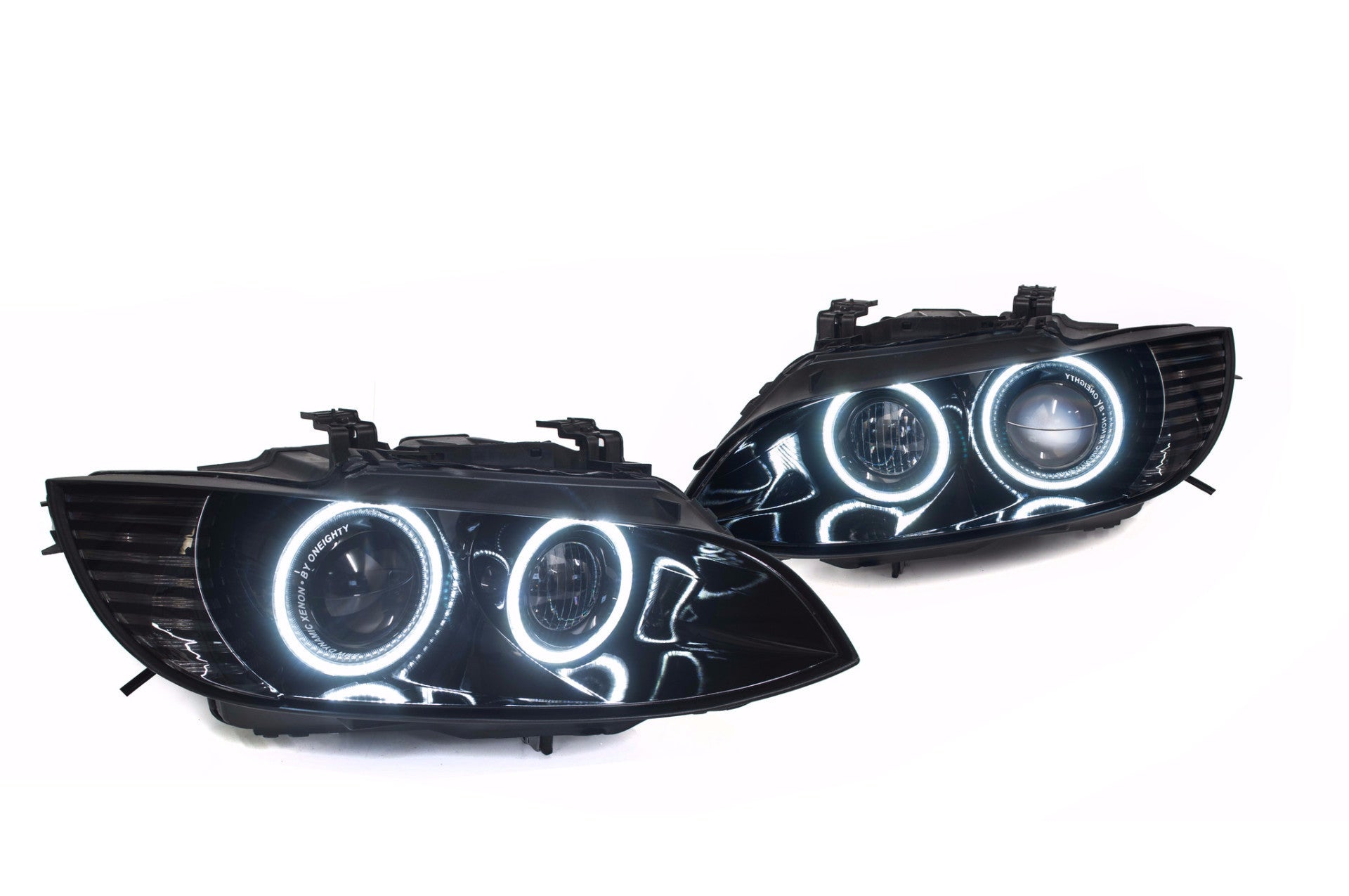 series bmw halos box colorshift control with hid clearance rgb cl headlights products