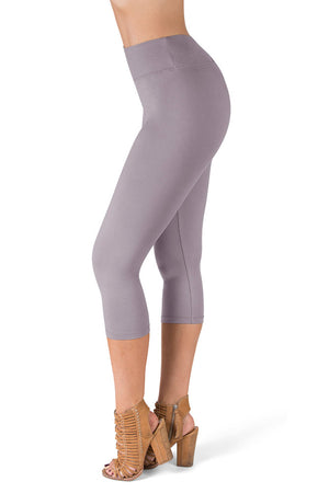 High Waisted Capri Leggings