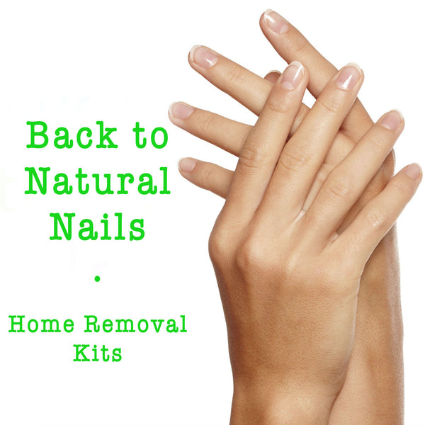 Nail Removal Kit - SNS, Acrylic, Shellac & Gel
