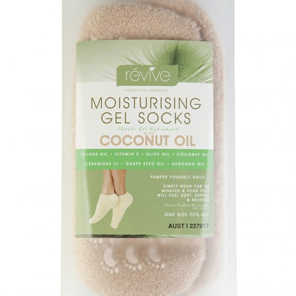 Moisturising Gel Socks With Coconut Oil @ $19.95 normally $24.95