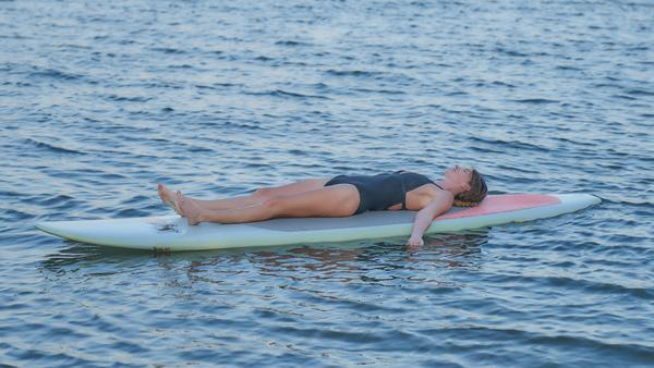 Orange + Water + Creativity: A SUP Yoga Practice