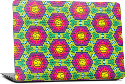 Rainbox Hex Laptop Skin