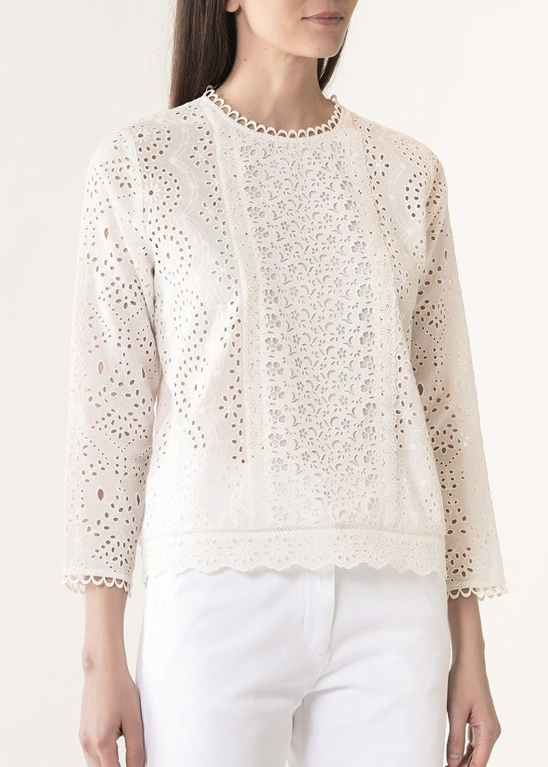 Vanessa Bruno Jalna blouse in blanc