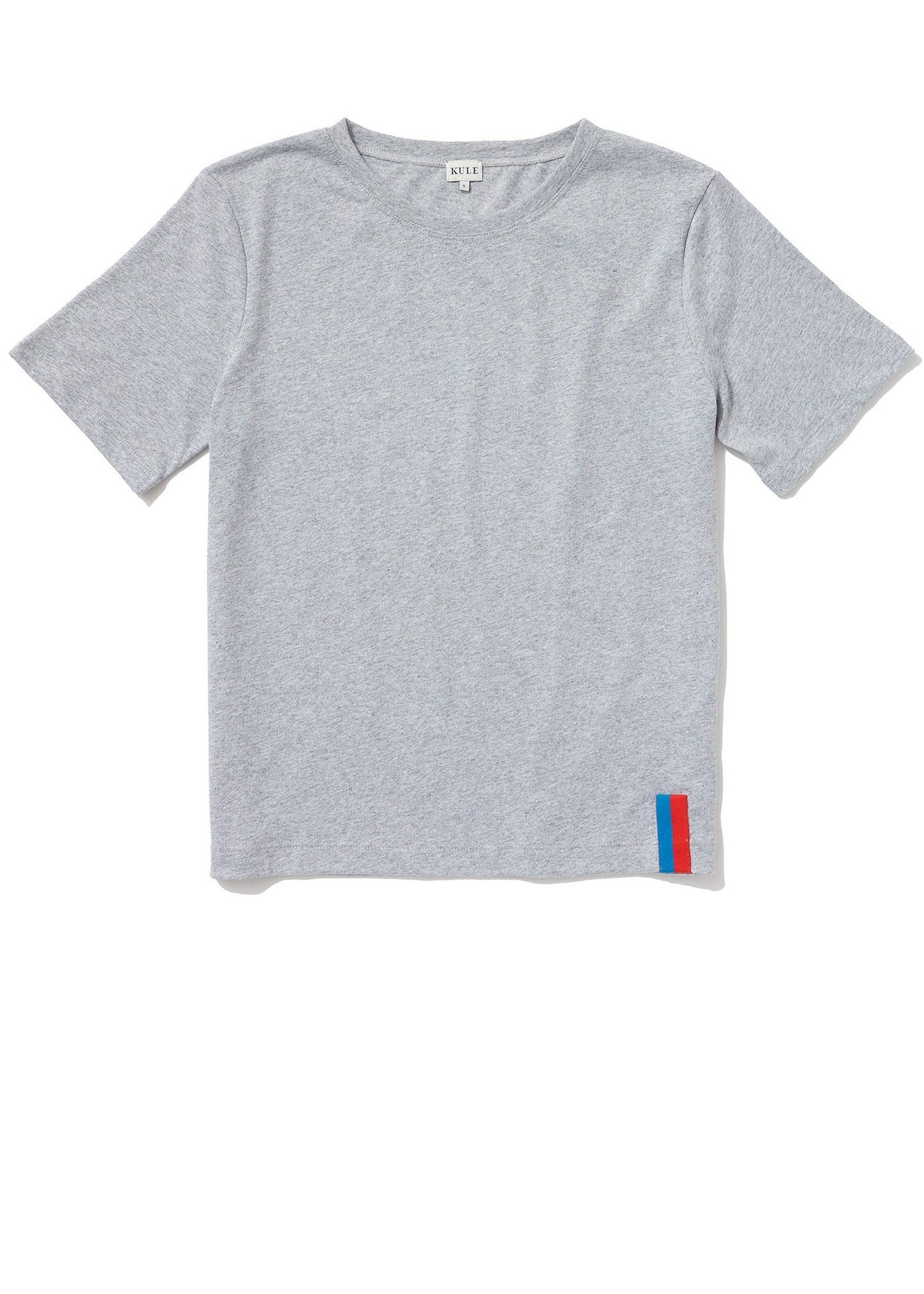 Kule modern solid tee heather grey