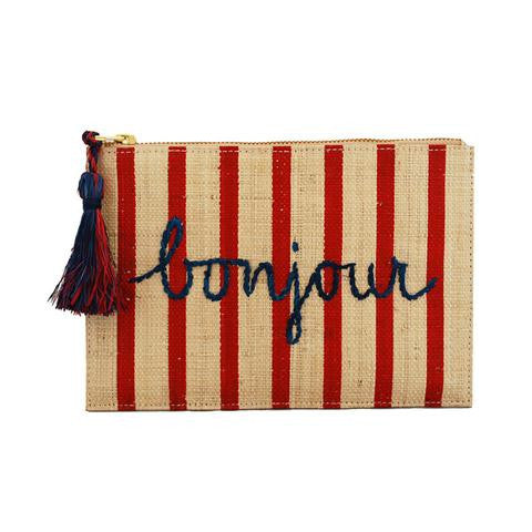 Kayu bonjour pouch natural