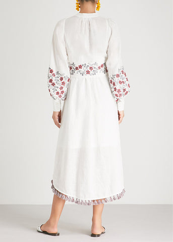 Zimmermann Bayou floral stich long dress