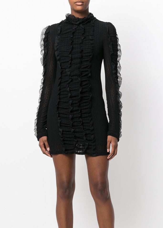 Philosophy di Lorenzo Serafini longsleeve mini dress black