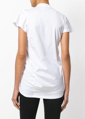 Marques Almeida Jersey Gathered Front tee white