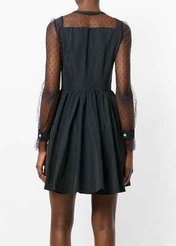 Philosophy di Lorenzo Serafini a-line dress with buttons black