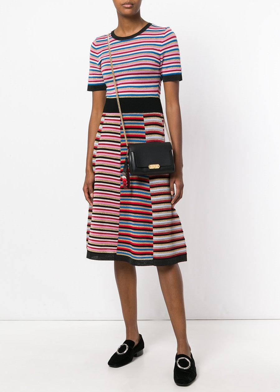 Chinti & Parker striped dress multi