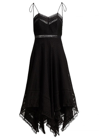 Zimmermann Juno pintuck scarf dress