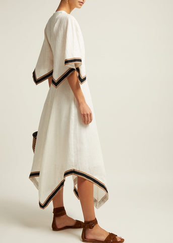 Zimmermann Juno ribbon long dress