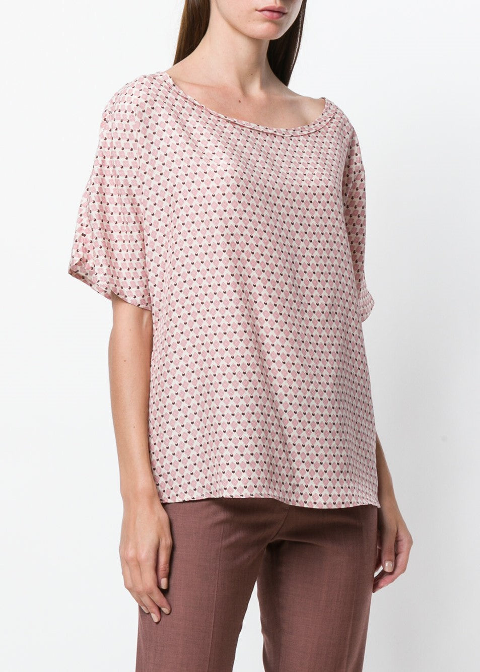 Diega Tilana top in pink print