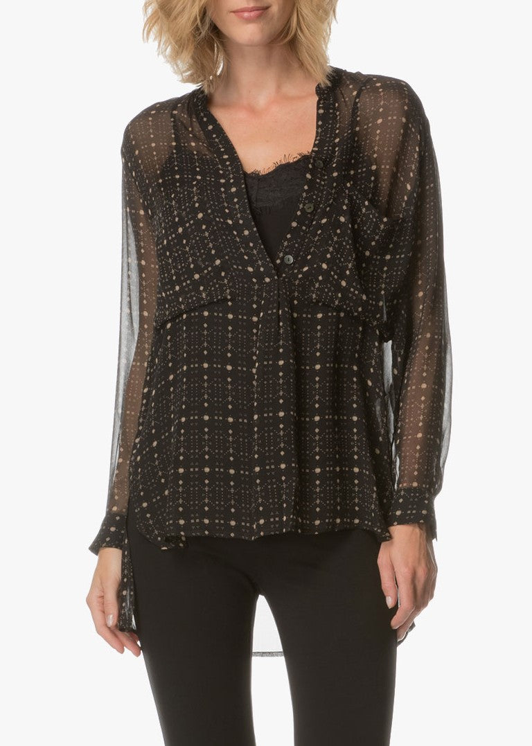 Magali Pascal lover blouse black galaxi