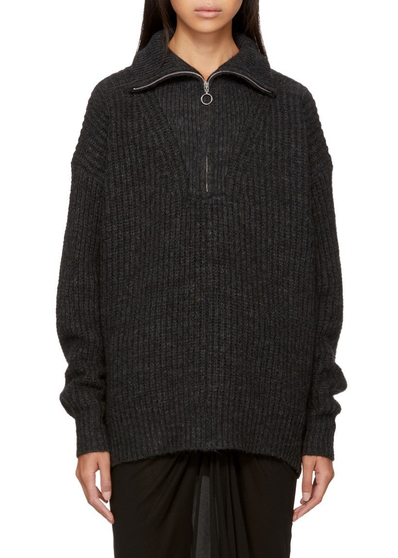 Isabel Marant Etoile declan pullover faded black