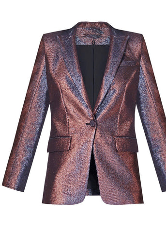 Veronica Beard Ashburn Blazer in pink