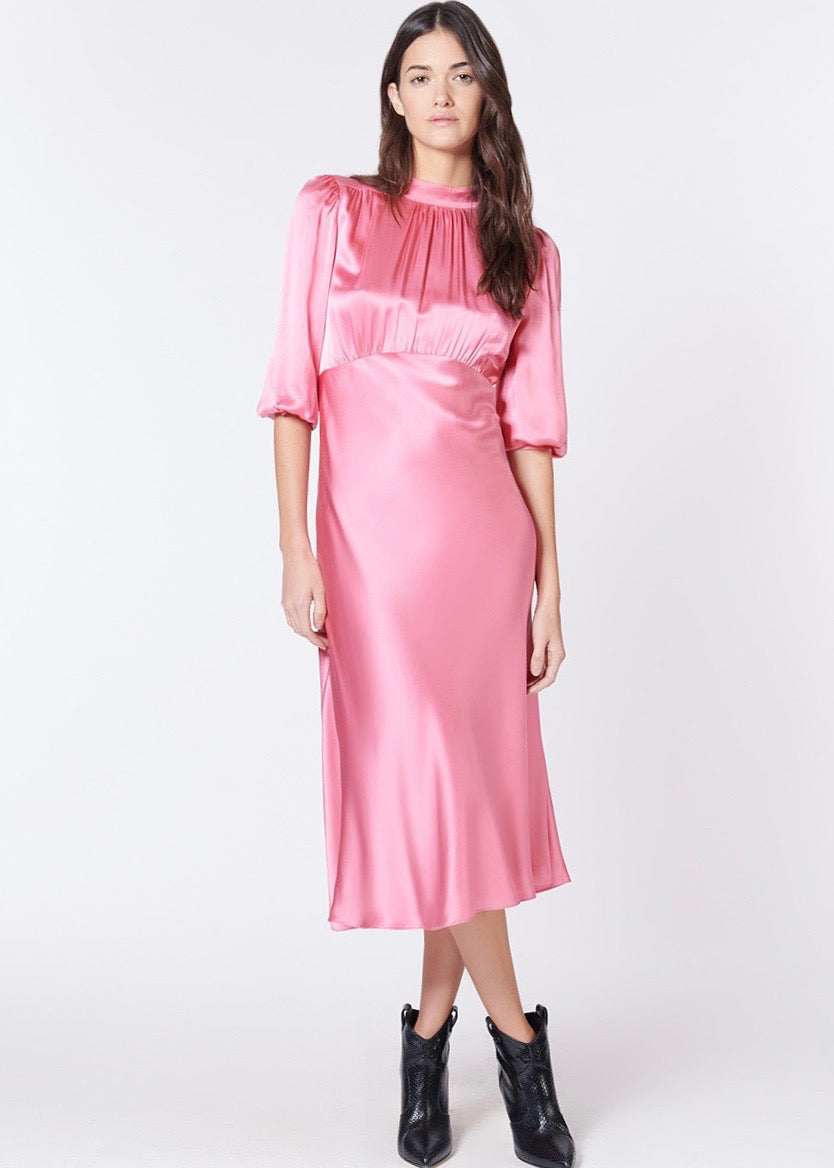 Veronica Beard Elsie dress in pink
