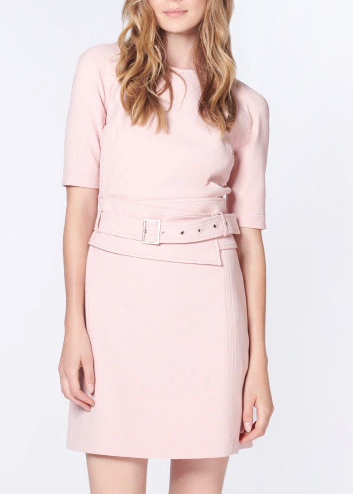 Veronica Beard Nora dress in light pink