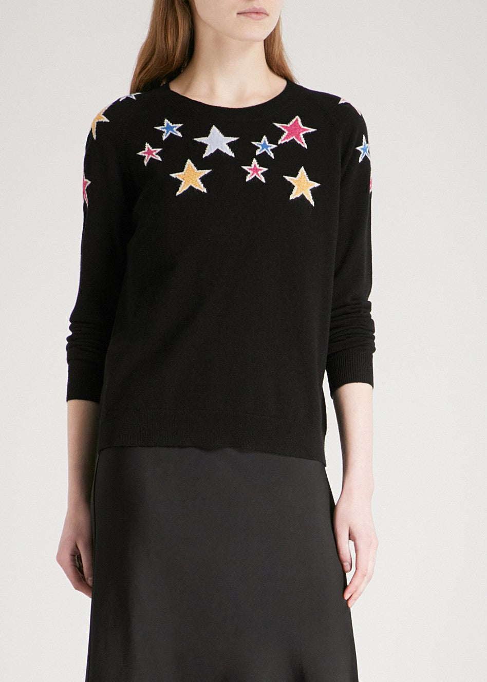 Chinti & Parker stardust sweater black