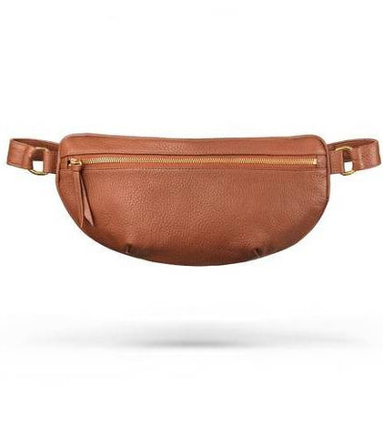 Ames Tovern leather hip bag chestnut