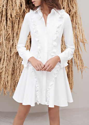 Alexis bernadette dress white
