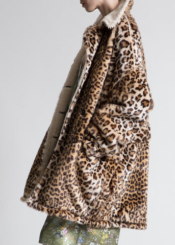 R13 leopard hunting coat