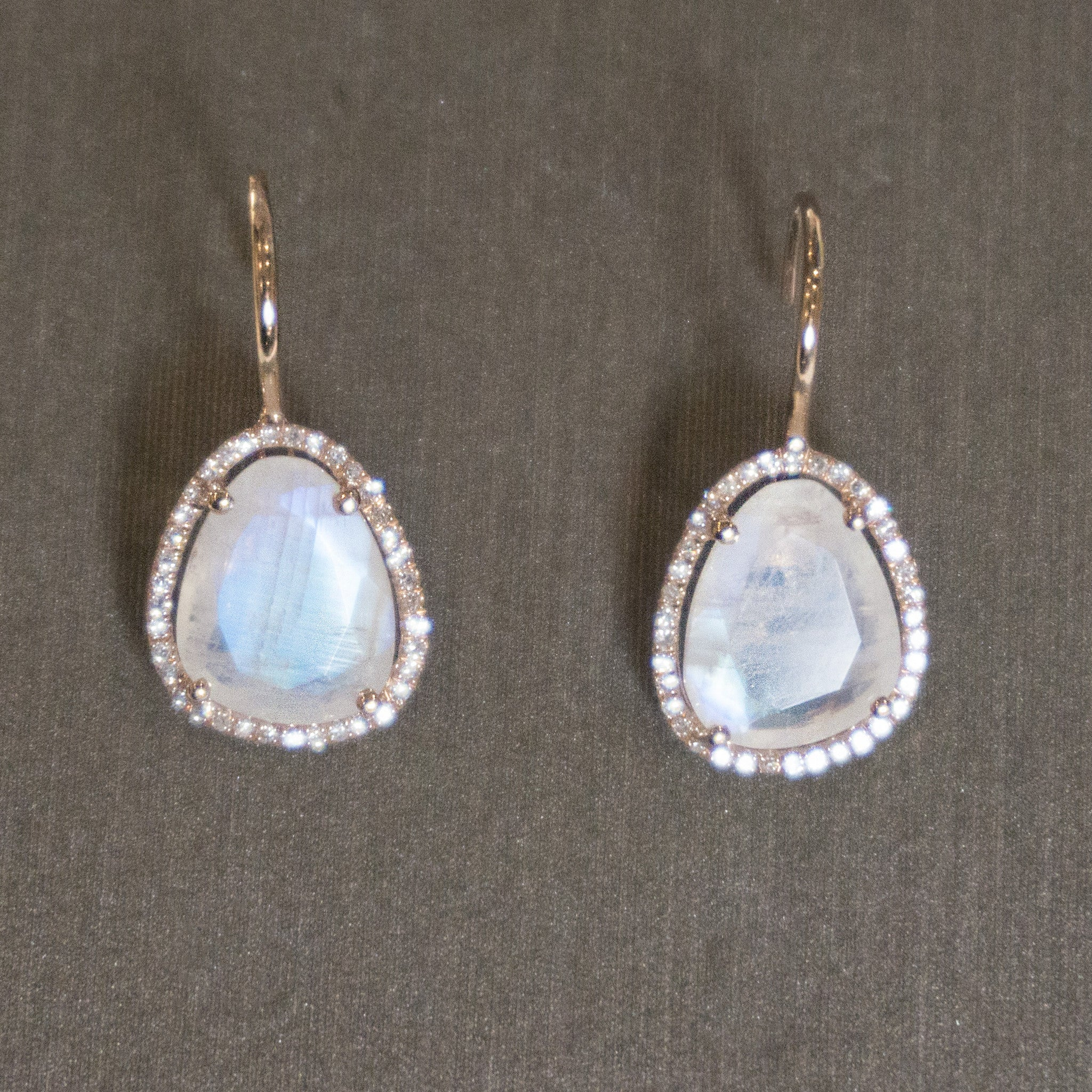 Rocks with Soul Moonstone Single Slice Drops