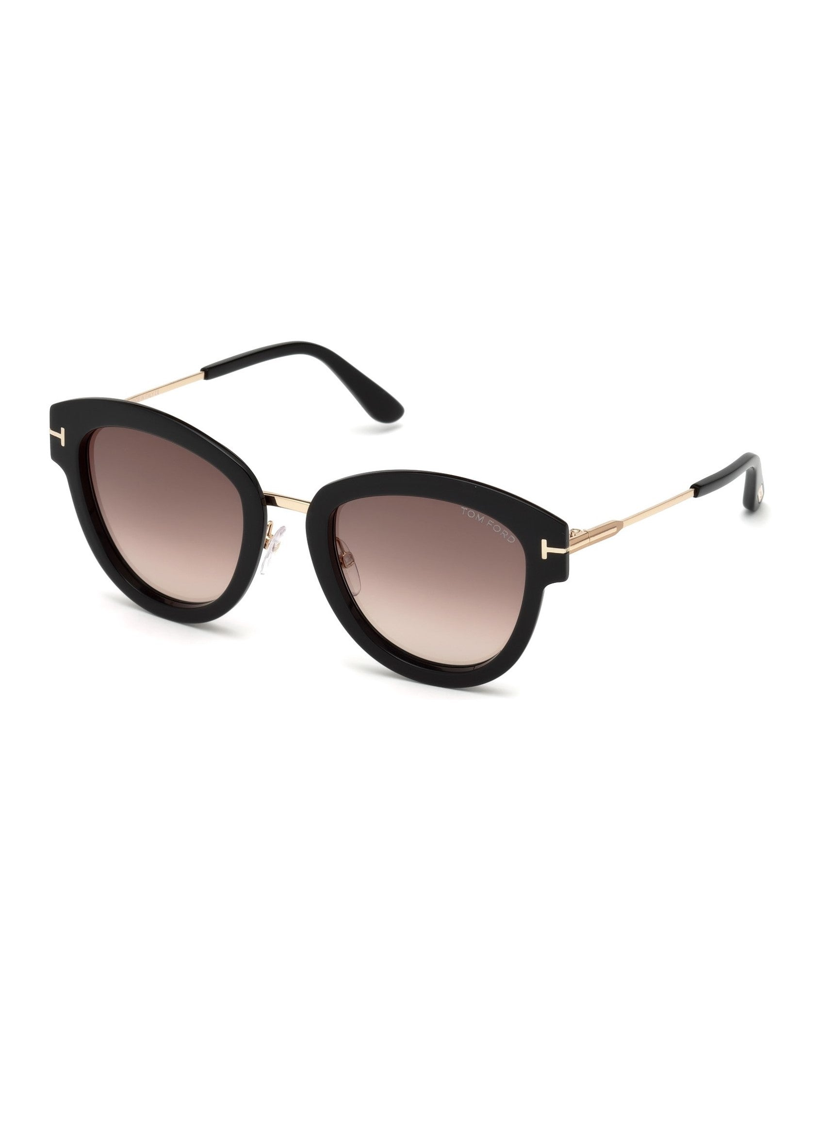 Tom Ford Mia sunglasses in shiny black