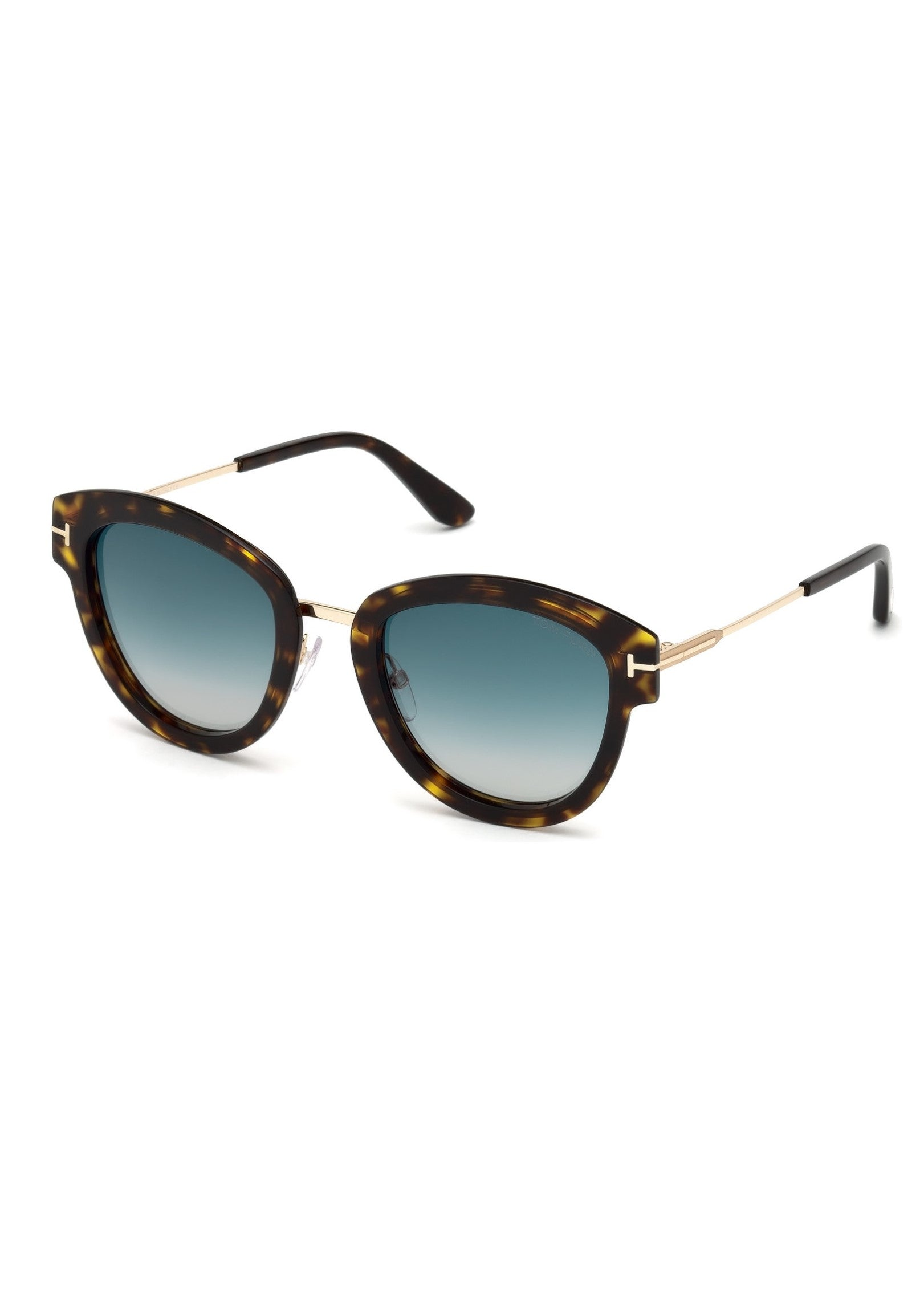 Tom Ford Mia sunglasses in colored havanna