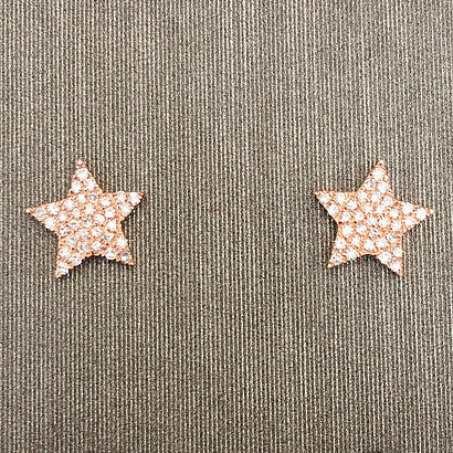 Rocks with Soul 5 Point Star Stud Earrings
