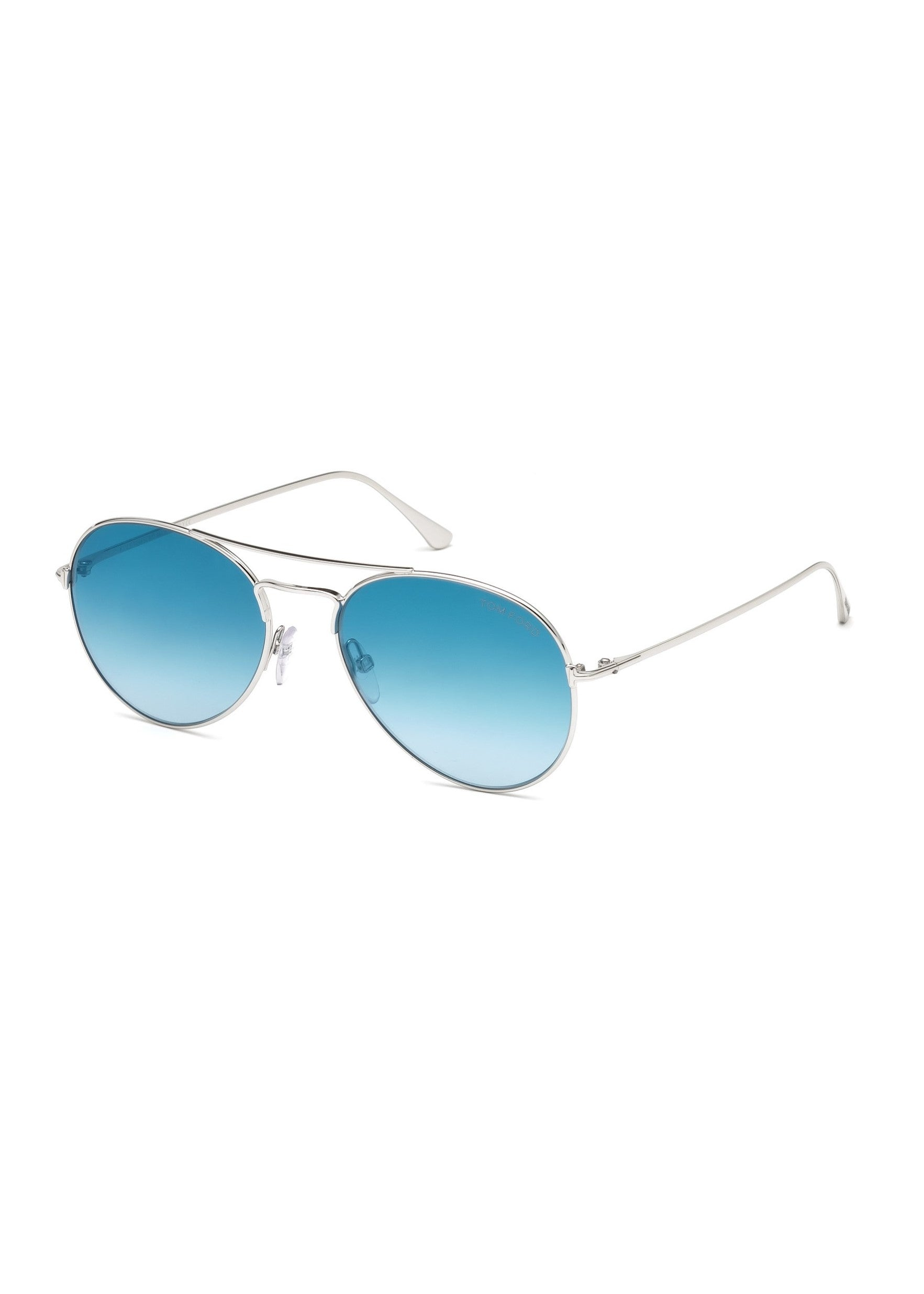 Tom Ford ace round aviators blue