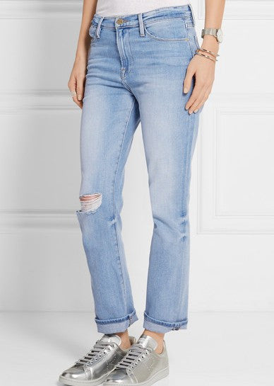 Frame le high straight denim jeffrey