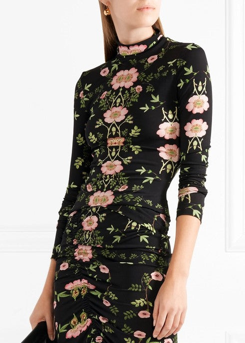 Preen bernadetta top wild rose