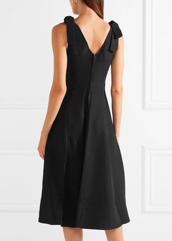 Ulla Johnson lana dress black