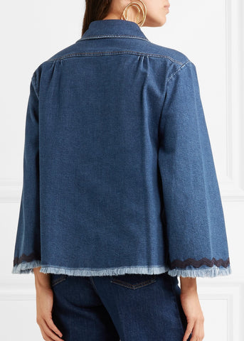 See by Chloe denim top