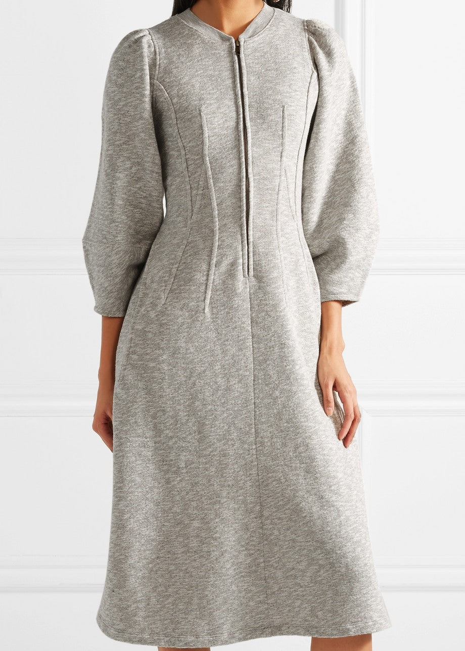 Ulla Johnson elora dress grey