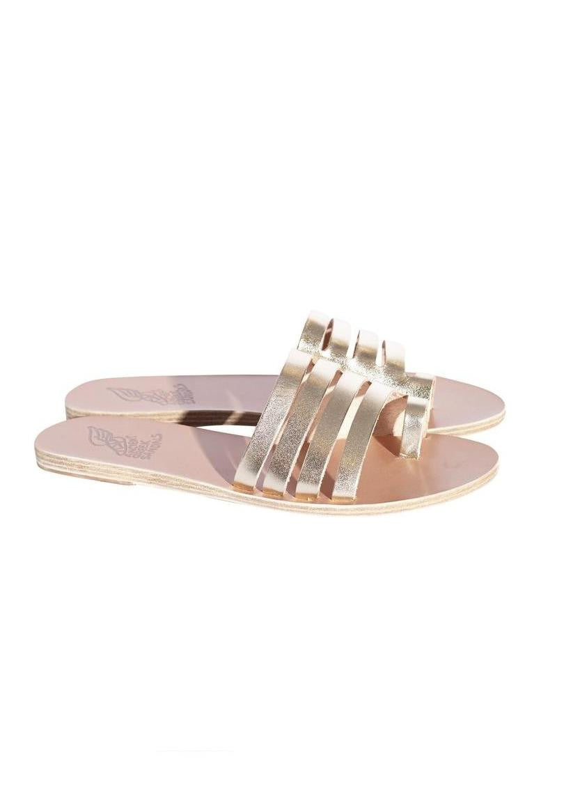 Ancient Greek Sandals agora platinum