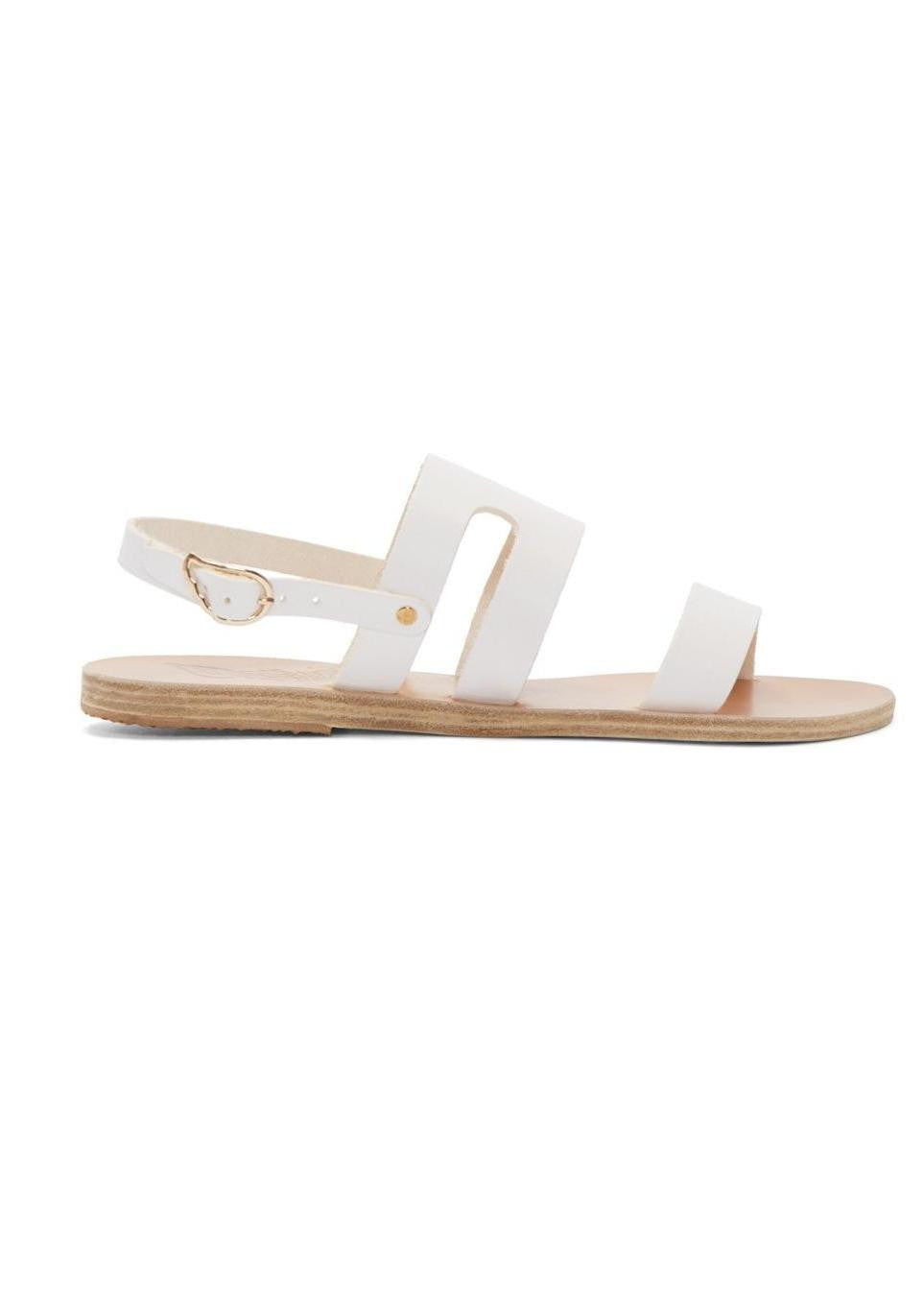 Ancient Greek Sandals athanasia sandal white