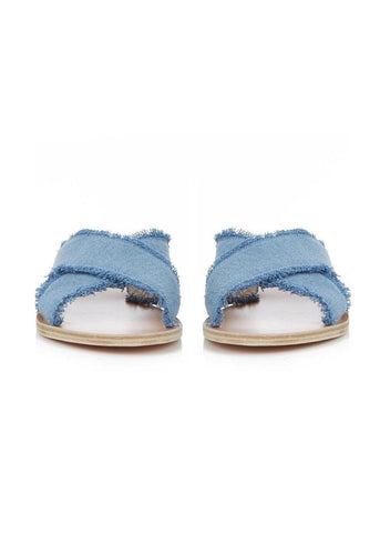 Ancient Greek Sandals thais denim