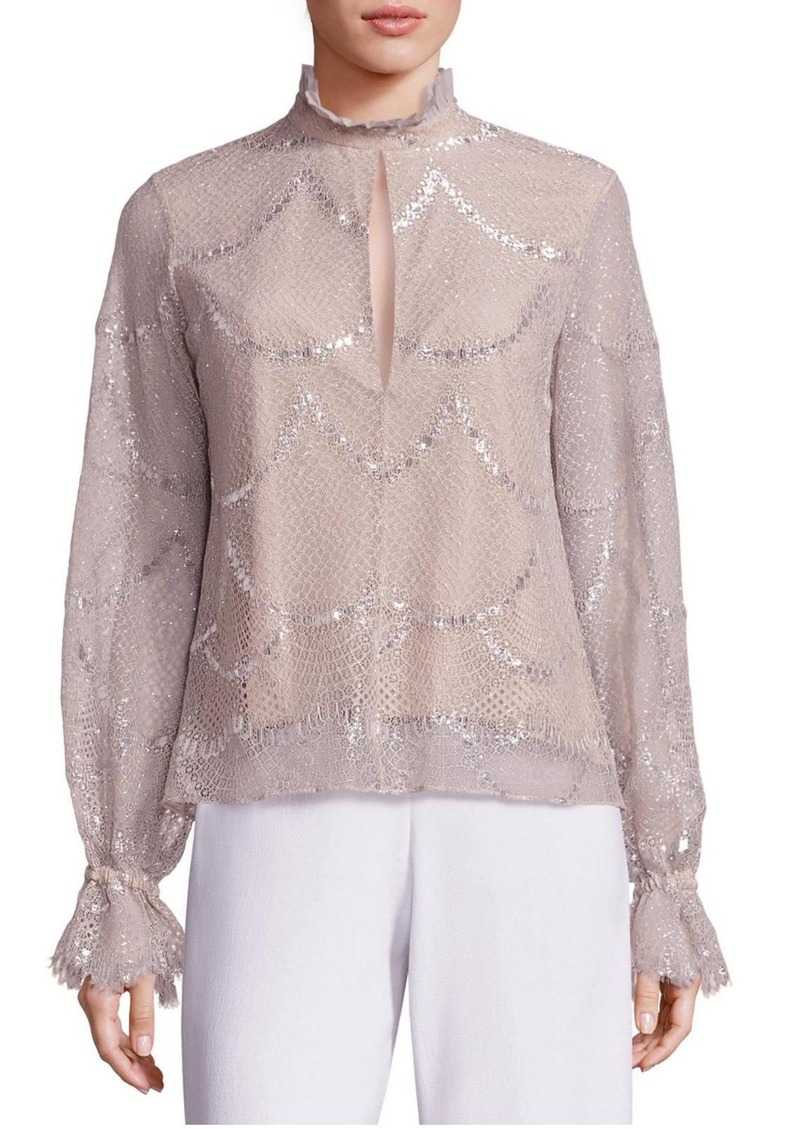 Alexis lucy top silver blush