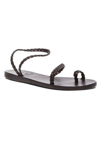 Ancient Greek Sandals eleftheria black