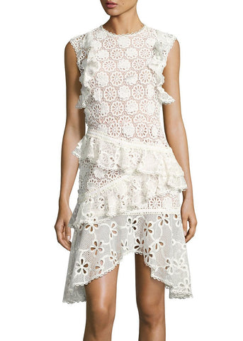Alexis arleigh dress white